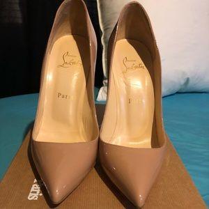 Pigalle red bottom heel